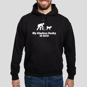 Alaskan Husky Hoodie (dark)