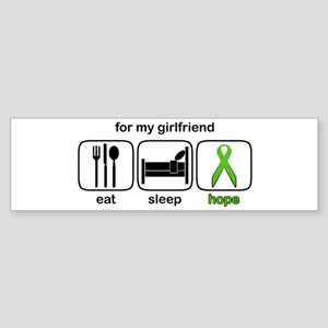 Girlfriend ESHope Lymphoma Bumper Sticker