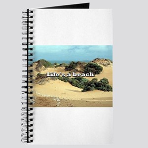 Life's a beach, sand dunes, Australia Journal