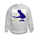 Kids Gymnastics Sweatshirt - Focus