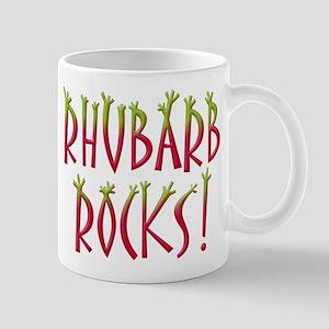 Rhubarb Rocks Mug