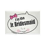 Jr. Bridesmaid Rectangle Magnet (100 pack)