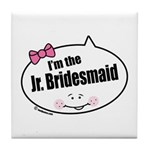 Jr. Bridesmaid Tile Coaster