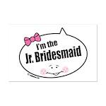 Jr. Bridesmaid Mini Poster Print