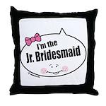 Jr. Bridesmaid Throw Pillow