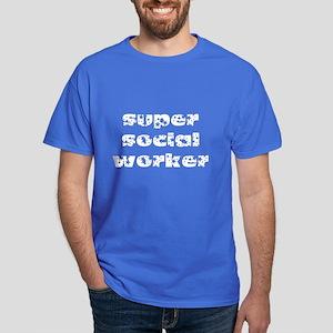 super social worker (white) Dark T-Shirt
