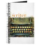 typewriter writer Journal