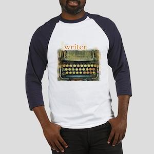 typewriter writer Baseball Jersey