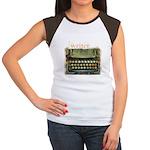 typewriter writer Women's Cap Sleeve T-Shirt