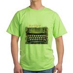 typewriter writer Green T-Shirt