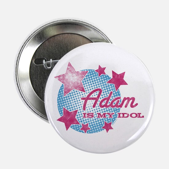 "Halftone Idol Adam 2.25"" Button"