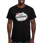 Bridesmaid Men's Fitted T-Shirt (dark)