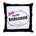 Bridesmaid Throw Pillow