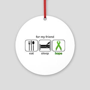 Friend ESHope Lymphoma Ornament (Round)