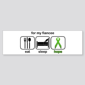 Fiancee ESHope Lymphoma Bumper Sticker