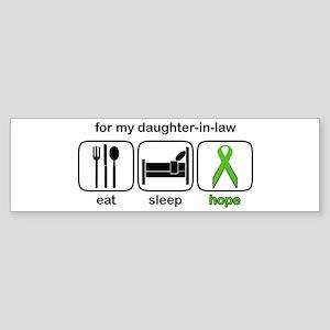 Daughter-in-law ESHope Lymphoma Bumper Sticker