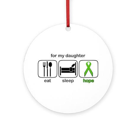 Daughter ESHope Lymphoma Ornament (Round)