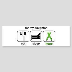 Daughter ESHope Lymphoma Bumper Sticker