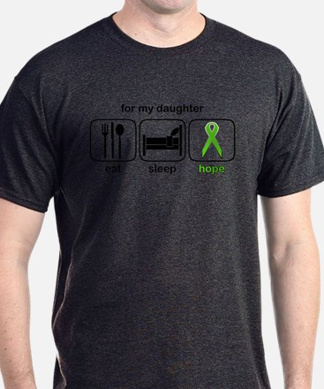 Daughter ESHope Lymphoma T-Shirt