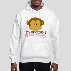 I'm Edward's Spider Monkey Hooded Sweatshirt