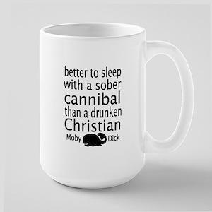 Sober Cannibal Large Mug