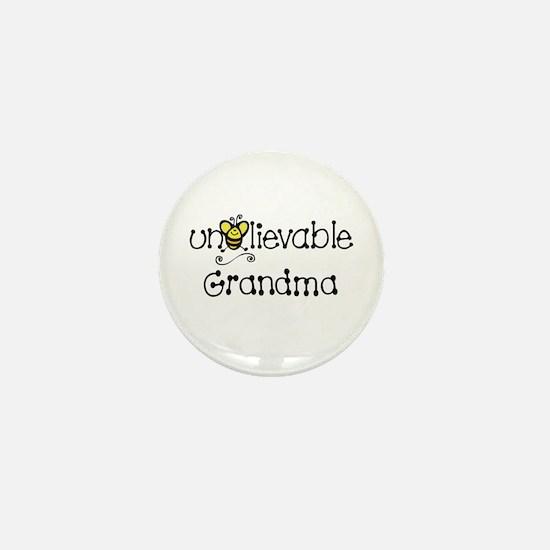 Unbelievable Grandma Mini Button
