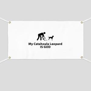 Catahoula Leopard Dog Banner