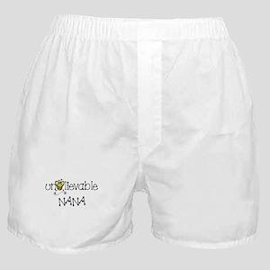 Unbelievable Nana Boxer Shorts