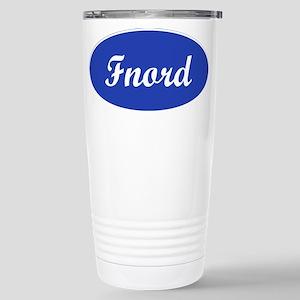 Fnord Stainless Steel Travel Mug