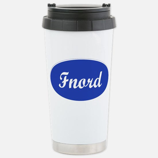 Fnord Stainless Steel Travel Mug