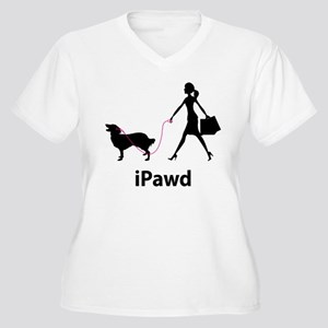 Chinook Women's Plus Size V-Neck T-Shirt