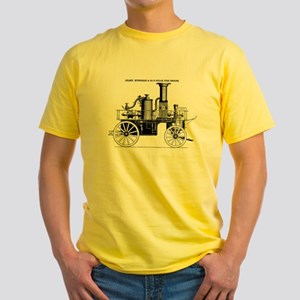 Silsby Fire Engine Yellow T-Shirt