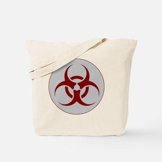 biohazard outbreak logo Tote Bag