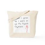 Grow up figure O Tote Bag
