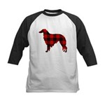 Borzoi Plaid Baseball Jersey