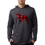 Borzoi Plaid Long Sleeve T-Shirt