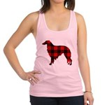 Borzoi Plaid Tank Top