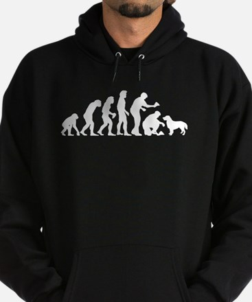 Flat-Coated Retriever Hoodie (dark)