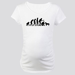 Flat-Coated Retriever Maternity T-Shirt