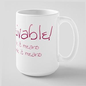 Inconceivable 2 Mugs