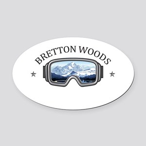 Bretton Woods - Bretton Woods - Oval Car Magnet