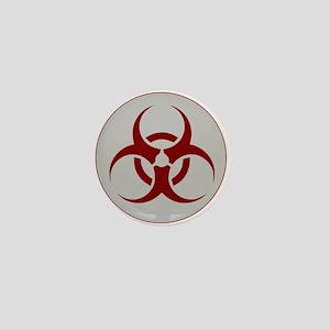 biohazard outbreak logo Mini Button