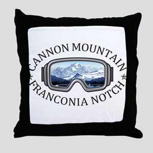 Cannon Mountain - Franconia Notch - Throw Pillow