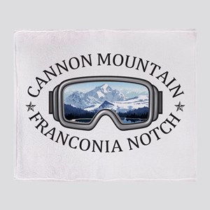 Cannon Mountain - Franconia Notch Throw Blanket