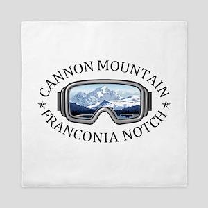 Cannon Mountain - Franconia Notch - Queen Duvet
