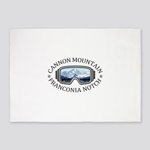 Cannon Mountain - Franconia Notch 5'x7'Area Rug