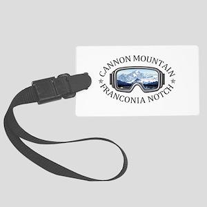 Cannon Mountain - Franconia No Large Luggage Tag