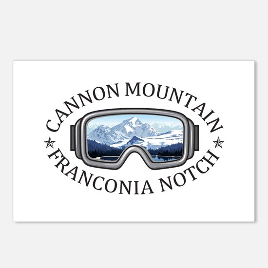 Cannon Mountain - Franc Postcards (Package of 8)
