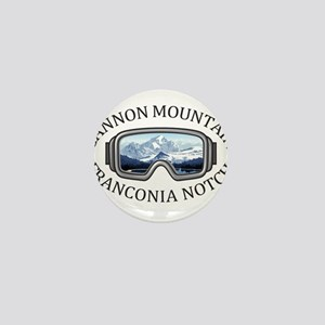 Cannon Mountain - Franconia Notch - Mini Button