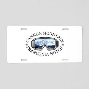Cannon Mountain - Francon Aluminum License Plate